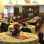 Orange Memories Care Home banquet hall